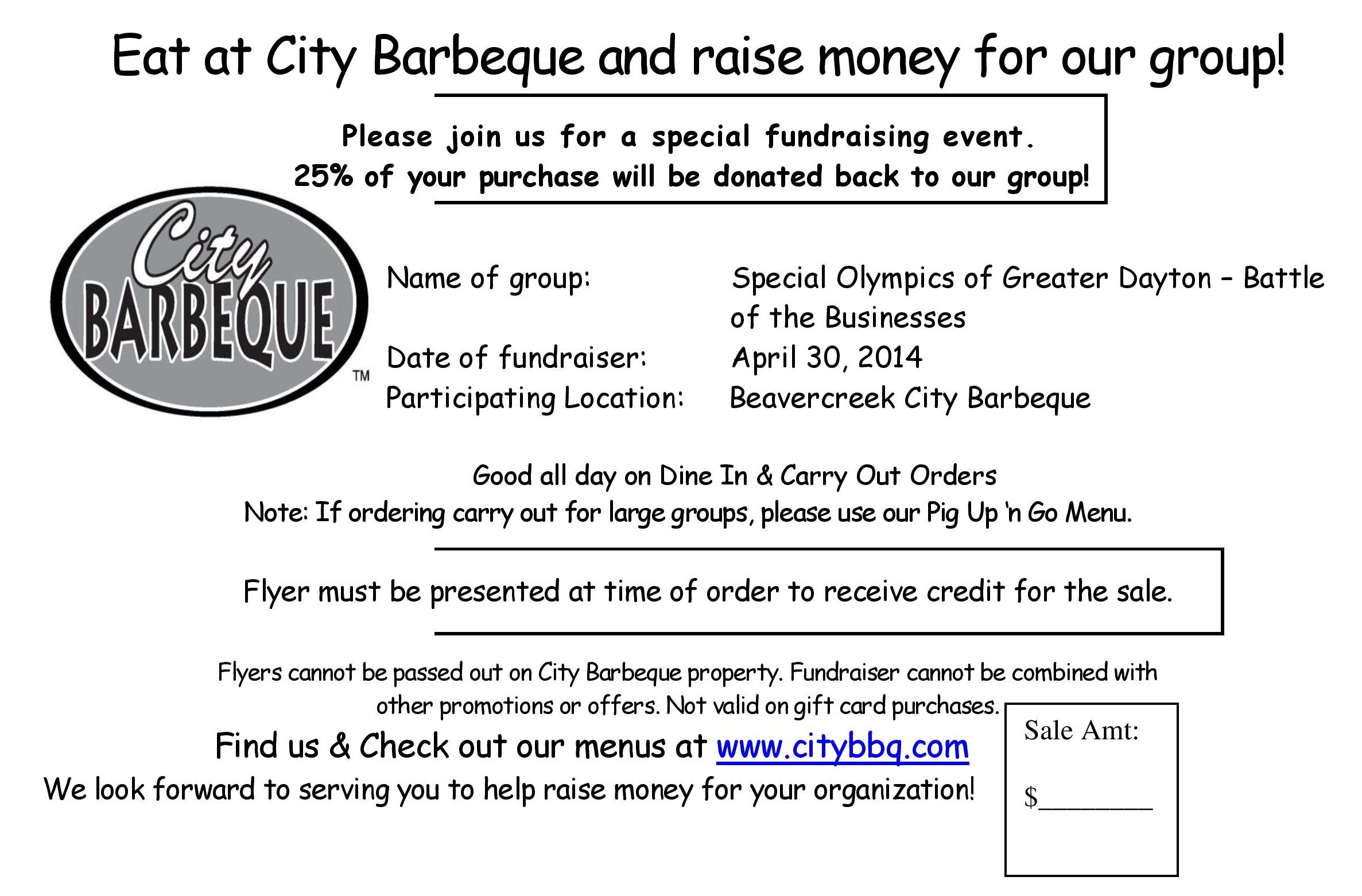 City Barbeque - Battle FundraiserApril 30-page-001