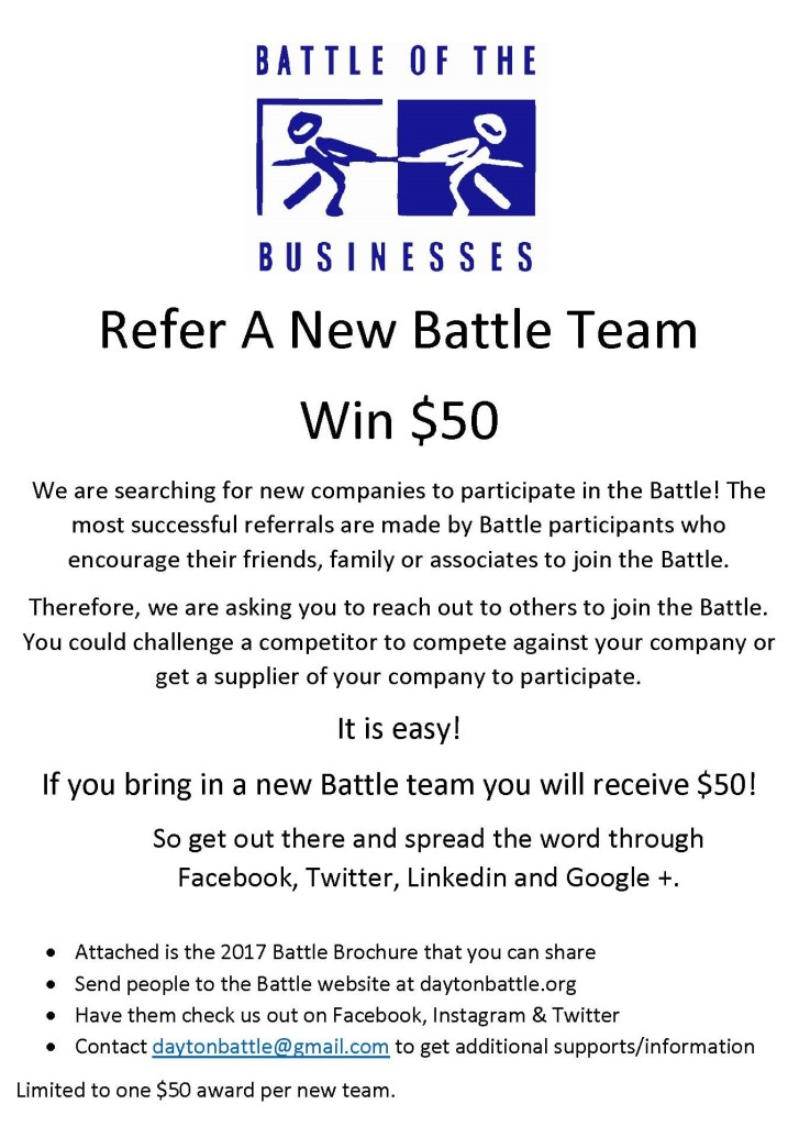 Refer a Battle Team